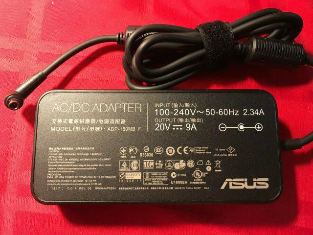Sạc Laptop Asus 20V- 9A - 180W Chân kim nhỏ
