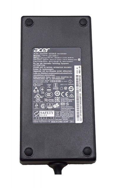 Sạc laptop Acer 19.5V 9.23A 180w